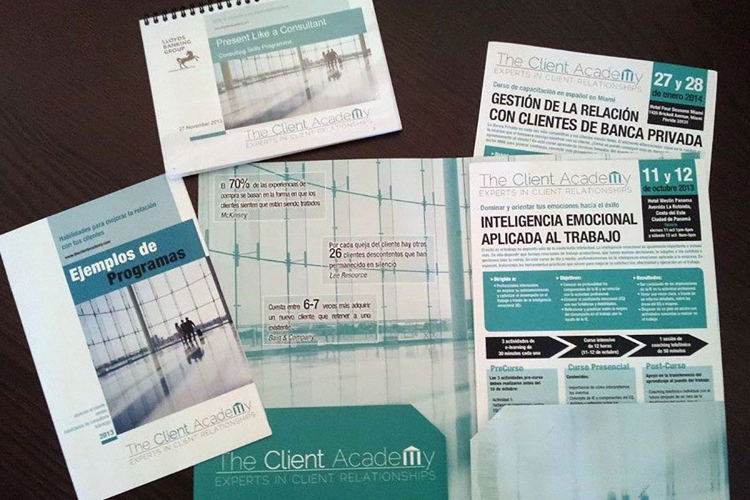 Dossiers informativos The Client Academy